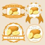 La pomme de terre de thème Image stock