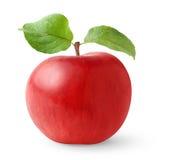 la pomme part du rouge Photo libre de droits