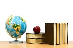 la pomme réserve la table Image libre de droits