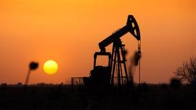 La pompe à huile Image libre de droits