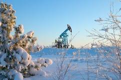 La pompe de pétrole. Photo stock
