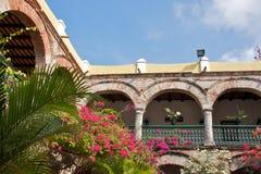 La Popa女修道院在卡塔赫钠 库存照片