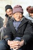 La population pluse âgé de la Chine a atteint 194000000 images libres de droits