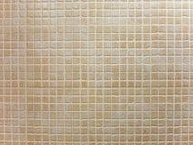 La porcelaine rapièce le modèle brun de fond de mosaïque Photos libres de droits