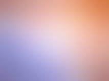 La porpora arancio di pendenza astratta ha colorato il fondo vago immagine stock