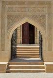 La porta alla moschea, Bacu, Azerbaigian Fotografie Stock Libere da Diritti