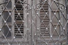 La porta alloggia l'architettura Messico City astratta Merida Immagini Stock Libere da Diritti