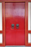 La porta cinese Fotografia Stock