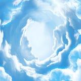La porta del cielo a cielo Fotografia Stock