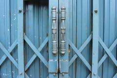 La porta del ferro Fotografia Stock Libera da Diritti