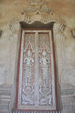 La porta del tempio Fotografia Stock