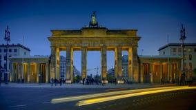 La porta di Brandeburgo a Berlino, Germania Immagini Stock Libere da Diritti
