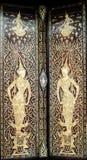 La porta progetta la Tailandia Fotografia Stock