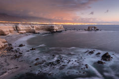 'La Portada' Natural Monument, Antofagasta (Chile) Stock Photos