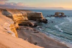 'La Portada' Natural Monument, Antofagasta (Chile) Stock Photography