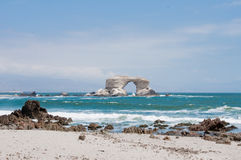 La Portada Natural Monument, Chile. La Portada Natural Monument at Antofagasta, Chile Royalty Free Stock Images