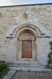 La porte à l'église Photos libres de droits
