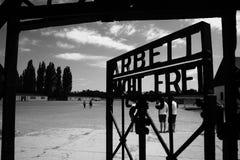 La porte à l'enfer Image libre de droits