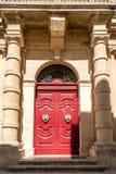 La porte à Malte Photographie stock libre de droits