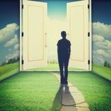 La porte à un autre monde Photos libres de droits