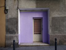 La porte photo stock