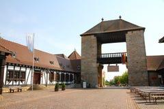 La porte allemande de vin Images libres de droits