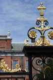 La porte au palais de Kensington Images libres de droits