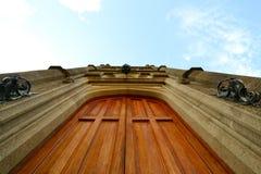 La porte au palais de Vorontsov Image libre de droits