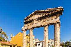 La porte d'Athena Archegetis Photographie stock libre de droits