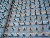 La porte dans la vieille forteresse indienne photographie stock libre de droits