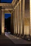 La Porte de Brandebourg Images libres de droits