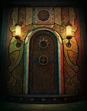 Porte de steampunk photo libre de droits image 30952515 for Porte blindee chambre forte
