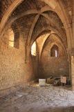 La porte de croisades à Césarée antique Maritima Photographie stock libre de droits