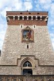 La porte de Florian, Cracovie. Photographie stock