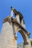 La porte de Hadrian d'Athènes, Grèce photo libre de droits