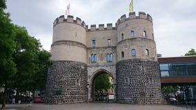 La porte de Hahnentorburg à Cologne Photos stock