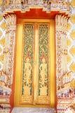 La porte de l'église Photographie stock