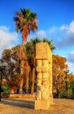 La porte de la foi en parc d'Abrasha - Jaffa, Tel Aviv images stock