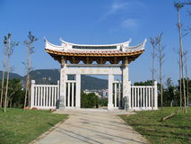La porte de la pagoda Photo libre de droits