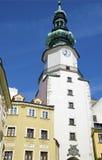 La porte de Michaels à Bratislava, Slovaquie Photo stock