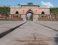 La porte de Nikolaev Image stock