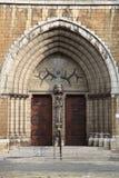 La porte de Sint Antonius Van Padoue à Anvers Photographie stock