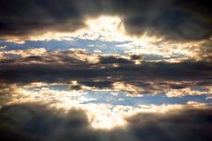 La porte du ciel Image stock
