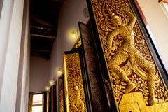 La porte du temple Photographie stock libre de droits