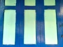 La porte en bois de vintage Images libres de droits
