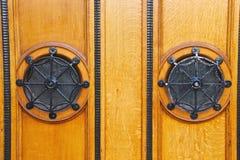 La porte est encadrée photographie stock libre de droits
