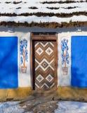 Porte et mur Images stock