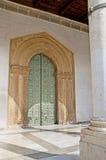 La porte romane de la cathédrale de Monreale Photographie stock