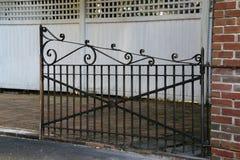 La porte rouillée photo libre de droits