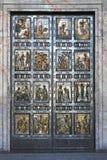 La porte sainte image libre de droits